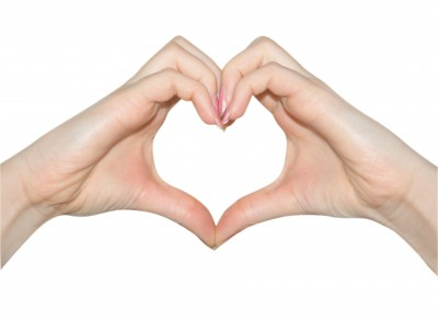 making heart by hands - photo #37